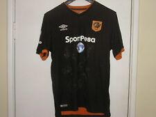 More details for squad signed hull city afc 2016/17 season away shirt 12 autographs!