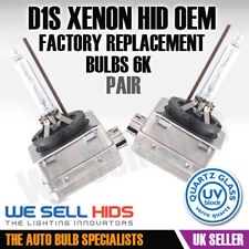 2 D1S HID Xenon 6000K Bulbs OEM Replacement OEM DIRECT FACTORY Phillips BMW X5 6