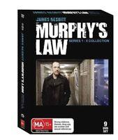 Murphy's Law Season 1 + 2 + 3 + 4 + 5 Series (DVD 9 DISC) 22 HOURS - Region 4