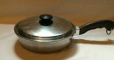 "Saladmaster 18/8 Tri Clad Stainless Steel 9"" Skillet Sauce Pan & lid Dallas TX"