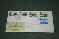 Post Office First Day Cover 'The National Trusts' 1981. Hull FDI Cancellation.