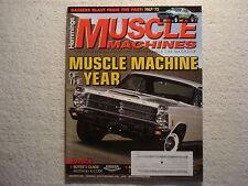 Muscle Machines 2013 December 71 Rivera GS 66 Fairlane 427 K-Code Mustang 67 GTO