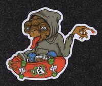 E.T. Skateboarding Vinyl Sticker