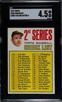 1967 Topps Mickey Mantle #103 SGC 4.5 VG-EX+ Baseball Card