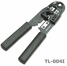 Intellinet RJ45/Modular Crimp Tool, Stripper and Cutter