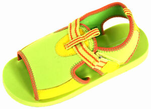 L'Amour Child Size 12 EVA Foam Beach Shoes w/Hook and Loop - 282574