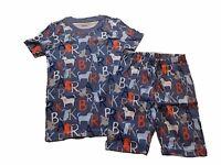 NWT Boy's Gymboree Dog Bark shirt & shorts pajamas gymmies ~ 4 5 6 7 8 10