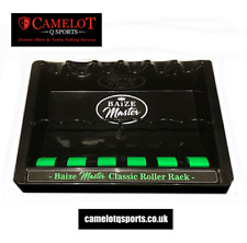 NEW BAIZE MASTER 6 FREEWHEELER CUE RACK POOL CLASSIC ROLLERBALL WALL CUE HOLDER