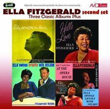 ELLA FITZGERALD - 3 CLASSIC ALBUMS PLUS NEW CD