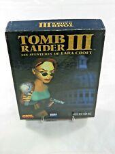 TOMB RAIDER III LES AVENTURES DE LARA CROFT PC BIG BOX BOITE CARTON VERSION FR