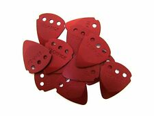 Dunlop Guitar Picks  12 Pack  Techpick (Tech Pick) Aluminum Metal  Red