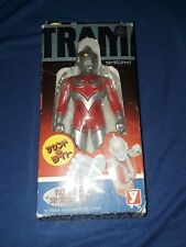 Ultraman Action Figure Red And Silver Yutaka 1998