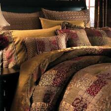 Croscill Queen Mocha Galleria Comforter Set NIP 4 Pieces