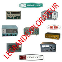 Ultimate Heathkit  Assembly Operation Service manual & Schematics  1300 on DVD