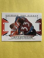 2009-10 In The Game Between The Pipes Net Brawlers #NB-03 Patrick Roy VS Osgood