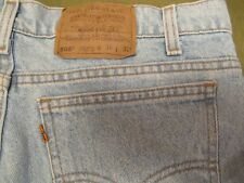Vintage Levi's Men's 505 Orange Tab 36x32 Straight Leg - No Stains No Tears USA