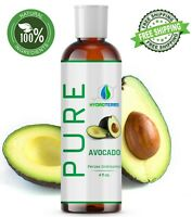 Avocado Oil 4 oz Cold Pressed 100% Pure Natural For Skin, Body, Hair and Massage