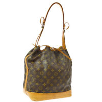 LOUIS VUITTON NOE DRAWSTRING SHOULDER BAG PURSE MONOGRAM M42224 NR15467