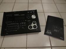 Roland Td-30 VDrum Module Brain td30 w/manual
