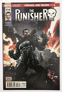 The Punisher #218 - Punisher In War Machine Armour - Marvel Comics