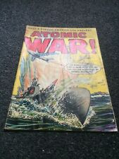 ATOMIC WAR!  2 (Ace Junior Books)  Pre-Code (RED SUB-c) Scarce 2nd issue 1952!!