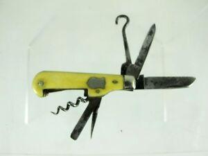 MULTI TOOLED POCKET KNIFE BY HUNTER  & SON SHEFFIELD, C1920'S