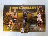 1996-97 UDA Chicago Bulls Commemorative Card #NNO 1997 90s Dynasty  /15000