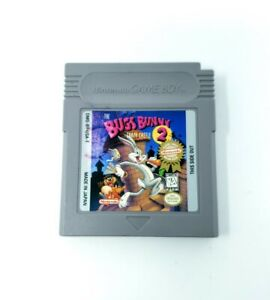 The Bugs Bunny Crazy Castle 2 (Nintendo Game Boy) GB Authentic Tested