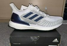 adidas Solar Boost St 19 ISS Space Station White Purple Blue Womens Multi Sizes