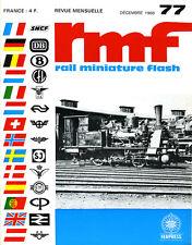 RMF N° 77 DE 1968, TÉLÉCOMMANDE JOUEF ET BLOC HORNBYacHO............
