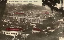 CPA PHOTO BRESIL RIO DE JANEIRO VIADUCTO SANTA THEREZA