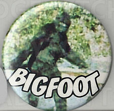 BIGFOOT ROUND FRIDGE MAGNET -- SASQUATCH COOL !