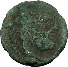 Philip V King of Macedonia 221BC Greek Coin Bearded Hercules Flute  i35662