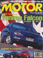 Motor Mar 96 MGF Barchetta MX-5 Futura Vienta Commodore SS Falcon XR8 Taurus