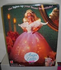 #2142 RARE NIB Mattel Angel Lights Tree Topper Barbie