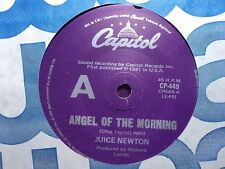 "Juice Newton ""Angel Of The Morning"" MERRILEE RUSH Oz 7"""