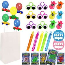 Childrens Pre Filled Birthday Treat Loot Party Bag Sets Favours For Boys N1393
