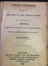 FOREIGN CONSPIRACY AGAINST THE LIBERTIES OF THE U.S.A.~Jesuit Conspiracy!~Morse
