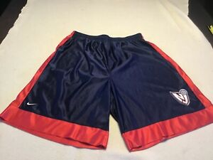 2000's New Jersey Nets Basketball Shorts Size XXL 2XL Navy Blue White Red