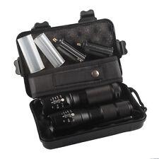 5000lm X800 ShadowHawk Tactical Flashlight LED Military Grade G700 Torch 2x Lamp
