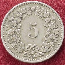 Switzerland 5 Rappen 1898 (C1212)
