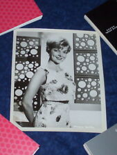 STUDIO PROMOTIONAL PHOTOGRAPH OF ALLURING PAMELA BRITTON IN A VERY SUMMERY DRESS
