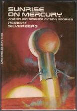 Robert SILVERBERG / Sunrise on Mercury and Other Science Fiction Signed 1st 1975