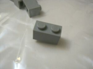 Lego Star Wars 20 panels with Rail 32028 Medium Stone Grey 1x2 Stud New