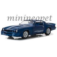 GREENLIGHT 13520 1981 CHEVROLET CAMARO Z28 YENKO Z 1/18 MODEL CAR BLUE