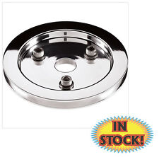 Billet Specialties 1 Groove Crankshaft Pulley for BB Chevy SWP - Polished 83120