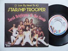 SARAH BRIGHTMAN & HOT GOSSIP Starship trooper  HC1 PROMO  Pressage France    RRR