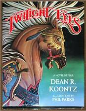 DEAN KOONTZ ~ TWILIGHT EYES ~ ILLUSTRATED PHIL PARKS ~ SIGNED ~ HC EDITION
