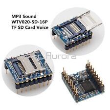 U-disk audio player TF SD card voice module MP3 Sound WTV020-SD-16P Arduino MO