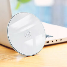 For iPhone X 8 Galaxy S9/8+  Note 8 Qi Fast Wireless Charger Charging Pad White